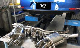 Macan 3.0、3.6 第三代SFX跑牌系統 &SFX線材&SFX中段加尾桶及碳纖尾飾管