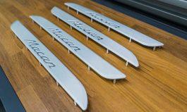 Macan 鋁合金迎賓踏板
