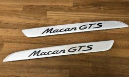 Macan GTS 鋁合金迎賓踏板