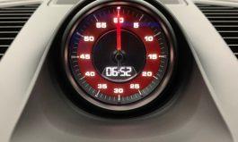 Porsche Cayenne E3 保時捷 新凱燕 秒錶紙