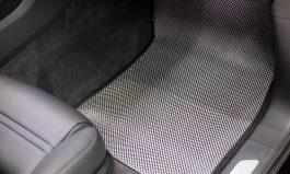 海馬黃金腳踏墊 仿碳纖維色