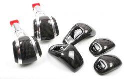 Cayenne碳纖維排檔桿、排檔蓋 Panamera碳纖排檔蓋