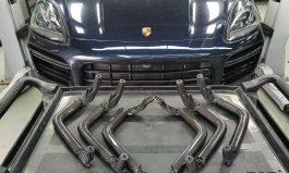 凱燕 Cayenne E3/Coupe 碳纖維扶手6件式