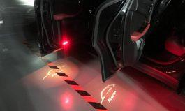 Macan 車門投射燈