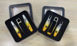 黑黃、白黃漸層鑰匙殼